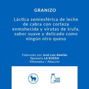 granizo_Queso_artesanal_Alicante_Latrampadelraton_Comprar